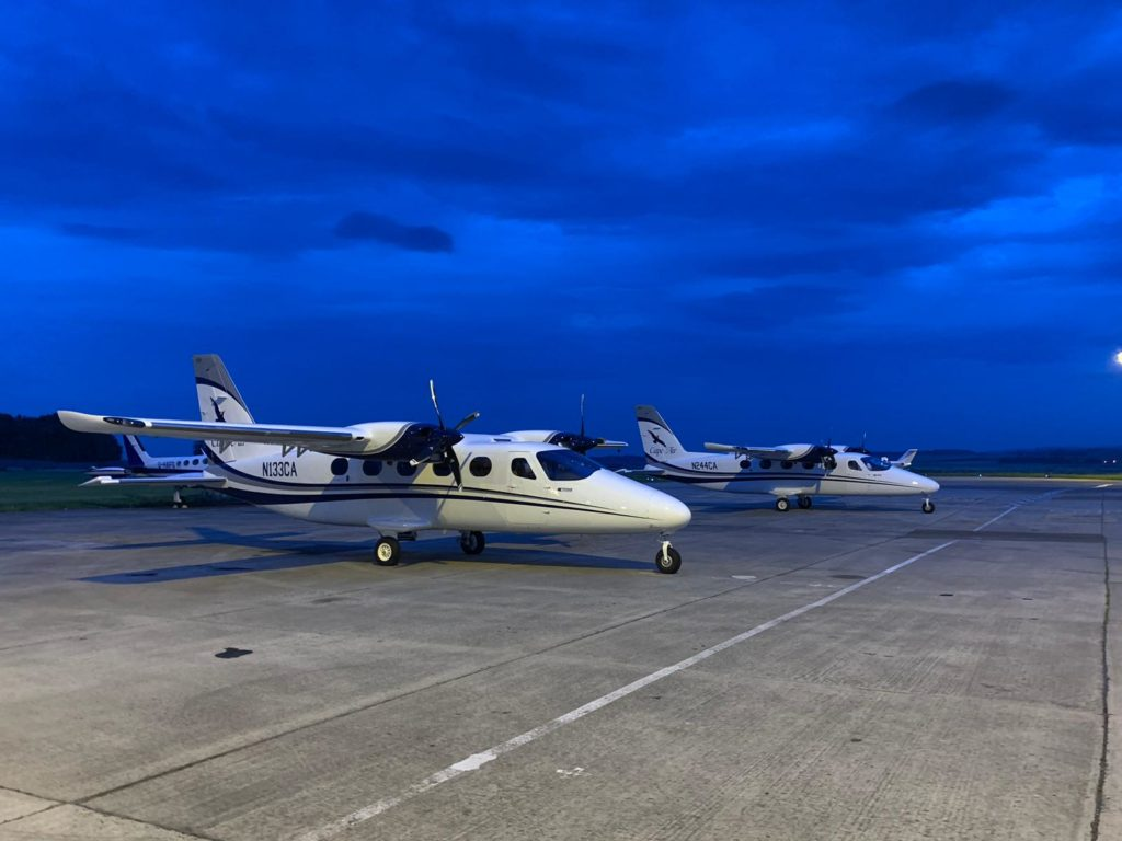 Tecnam P2012 Travellers in Scotland